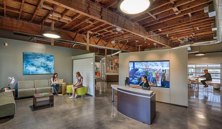 Office Design Portfolio: Independence High School - One Workplace