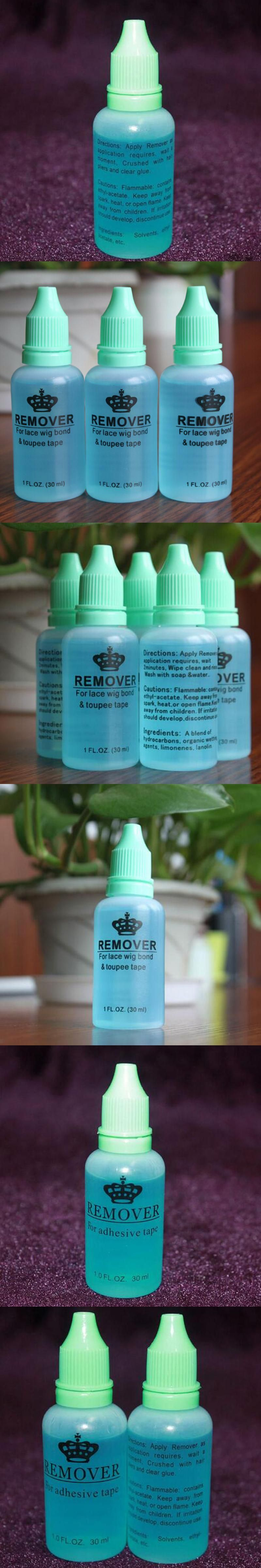 3 Bottles Professional Salon Use 1oz 30ml Hair Glue Remover For Lace