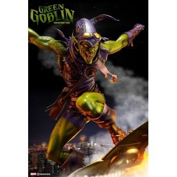 Preorder this Sideshow figure now. flexible payment options and FREE EU shipping. This Green Goblin statue stands at 58cm and is 1/4 scale premium format figure