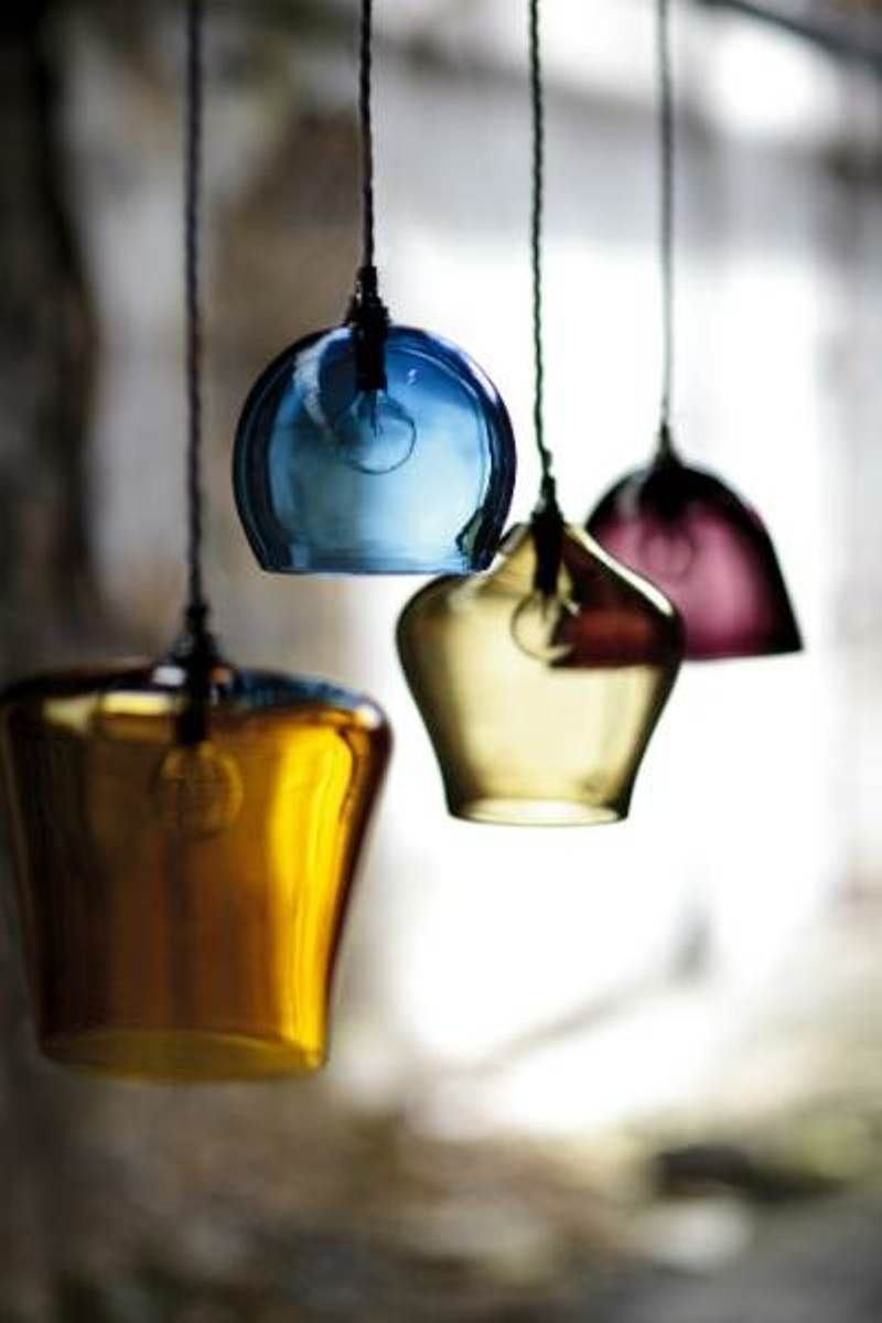 Hand Blown Glass Pendants Kitchen Pendant Lighting Ideas ...