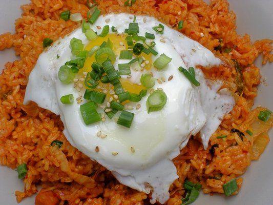 kimchi fried rice @ Bear's Ramen  Yelp