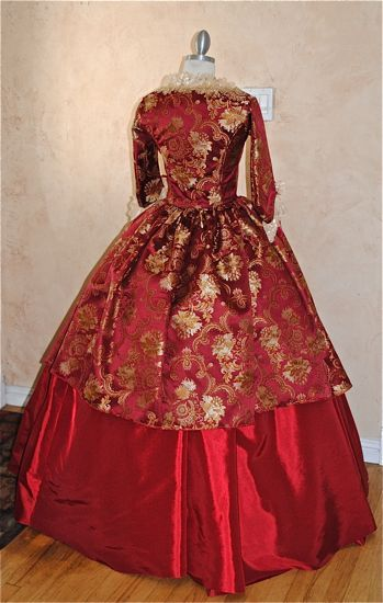 New Style! Simple Sleeve Antoinette Gown Custom