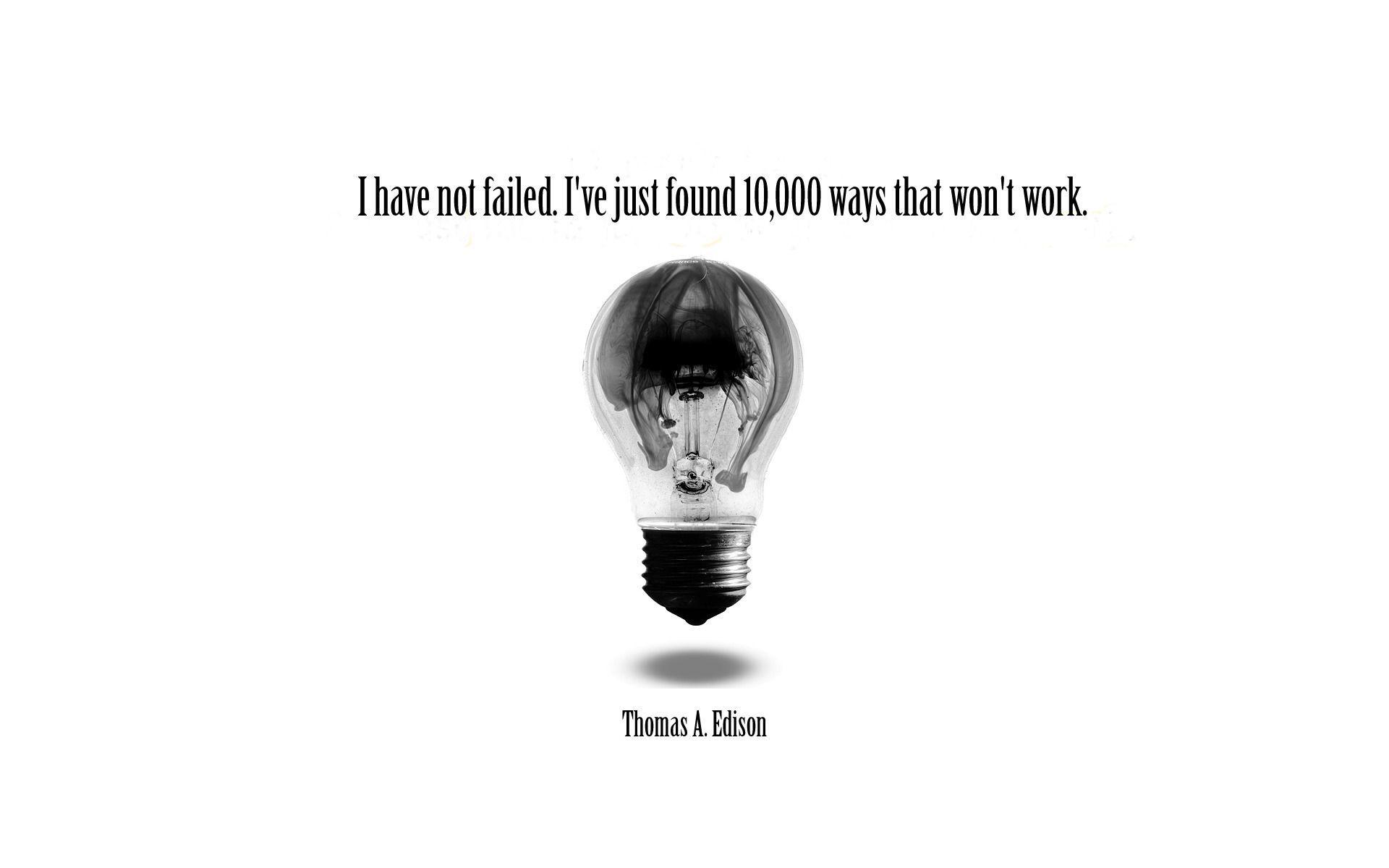 Famous Quotes About Light Bulbs Thomas Edison Quotes Edison Quotes Light Quotes