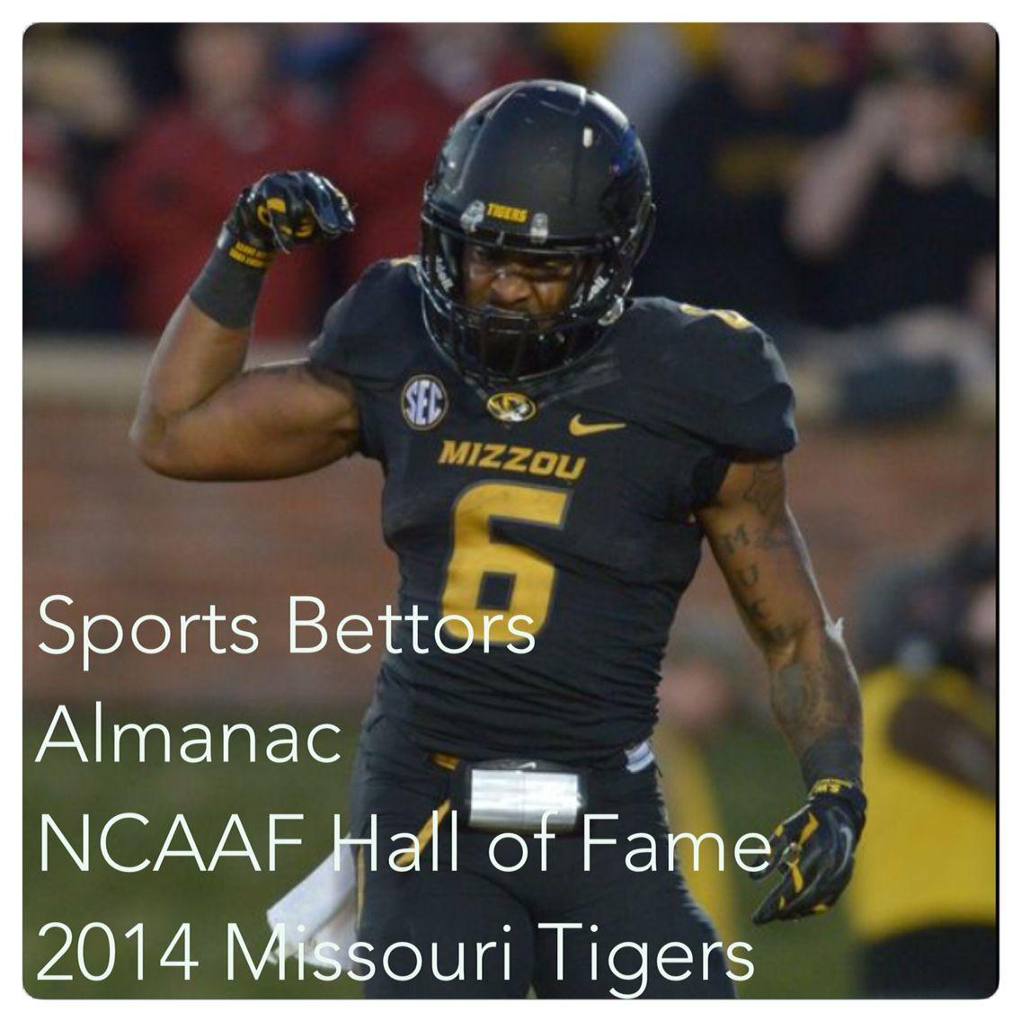 NCAAF Sports Bettors Almanac Hall Of Fame 2014 Missouri