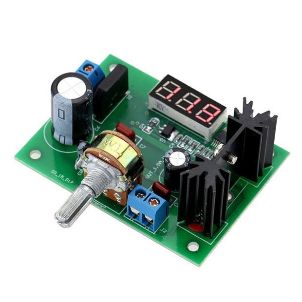 LM317 Adjustable LDO Linear Step Down Voltage Regulator Power Supply Module