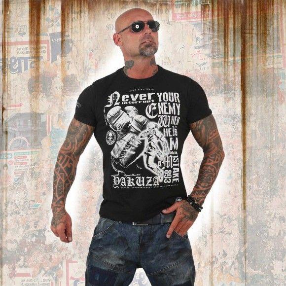 51c03e054 Yakuza tričko pánske MISTAKE TSB 12021 black | Yakuza tričká 2018 ...