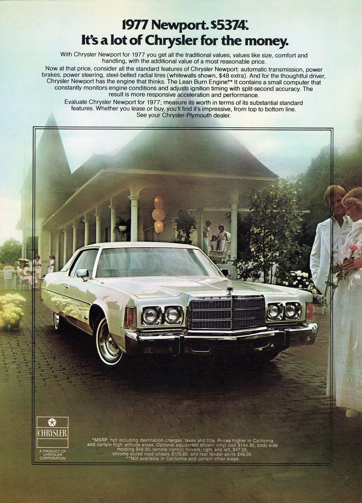 1977 Chrysler Newport 2 Door Hardtop With Images Chrysler