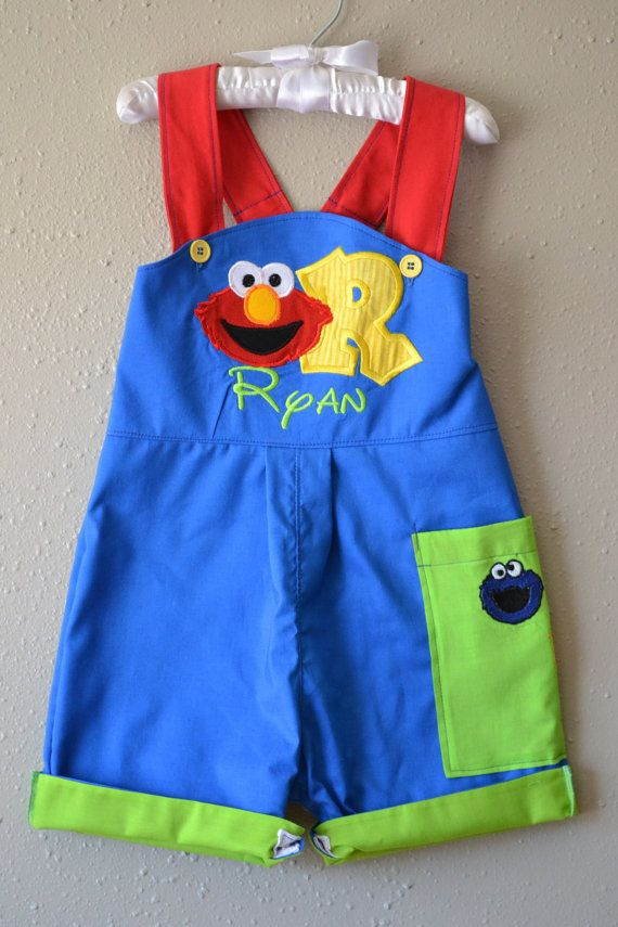 49409d363 Boys First Birthday outfit Sesame Street by boogerbearpunkinpooh. Boys  First Birthday outfit Sesame Street by boogerbearpunkinpooh Elmo ...