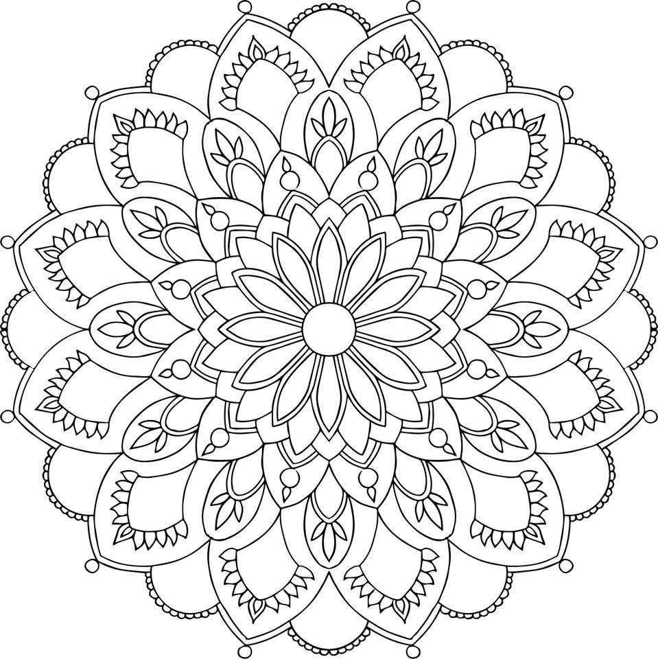 Lotus designs coloring book - Mauindiarts Colouring Books Pages
