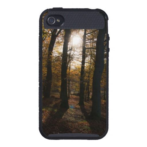 Forest sun cases for iPhone 4. #forest #sun #autumn #fall #photograph #photo #photography #LensFlare #personalize