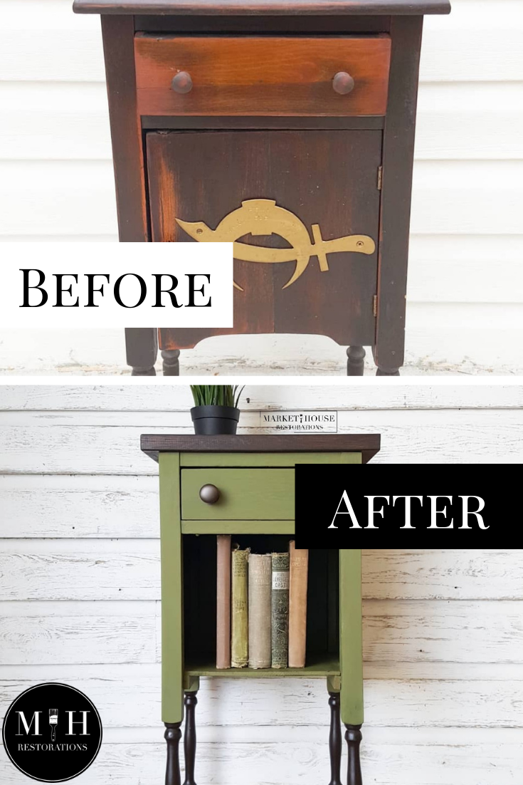 Humidor To Side Table Makeover Mondaymakeoverswithfallon Market