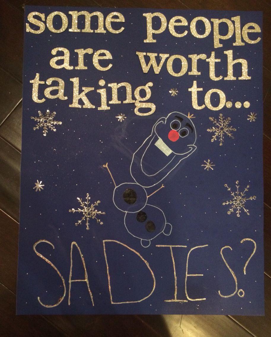 Christmas Homecoming Proposal.Sadies Proposal Ideas Do It Yourself Homecoming Proposal