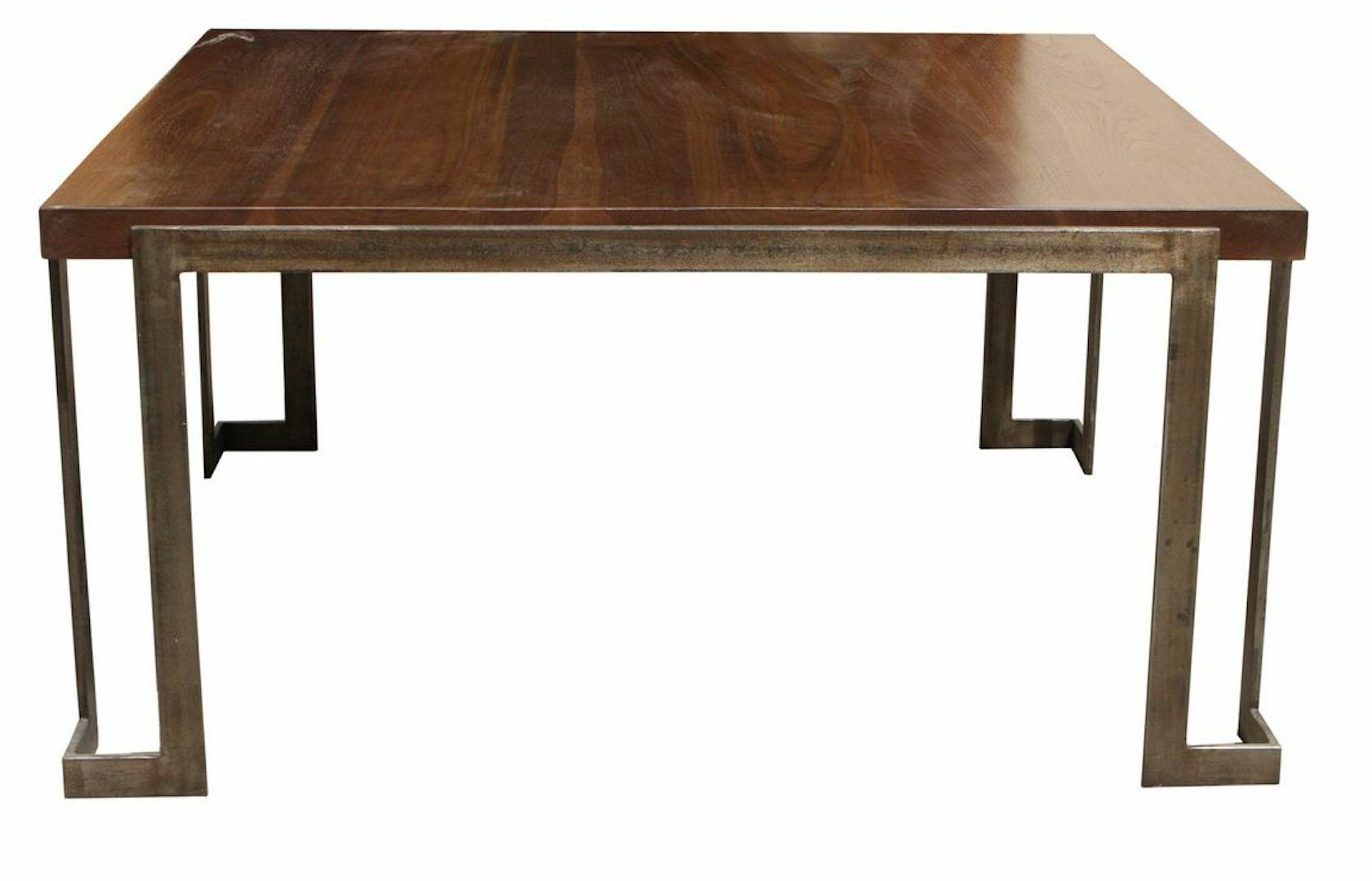 Modern Metal And Wood Coffee Table Table Wood Modern