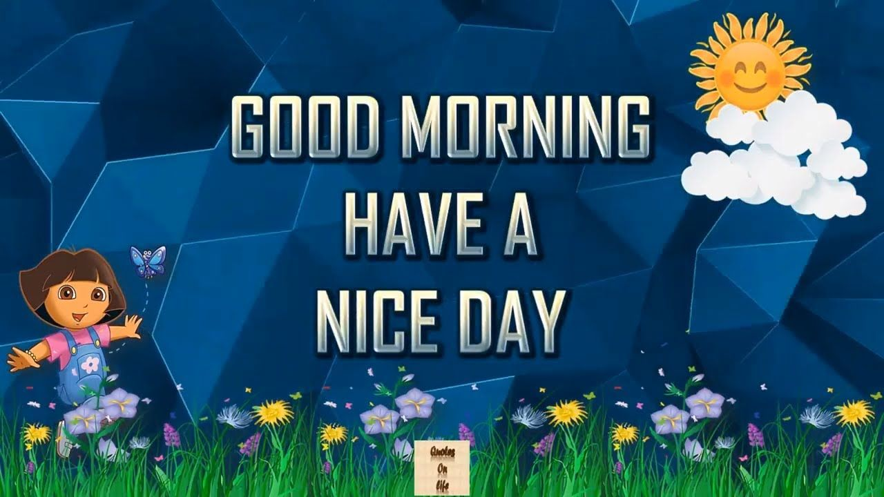 Good Morning Greeting Video With Animated Quotes Good Morning Video