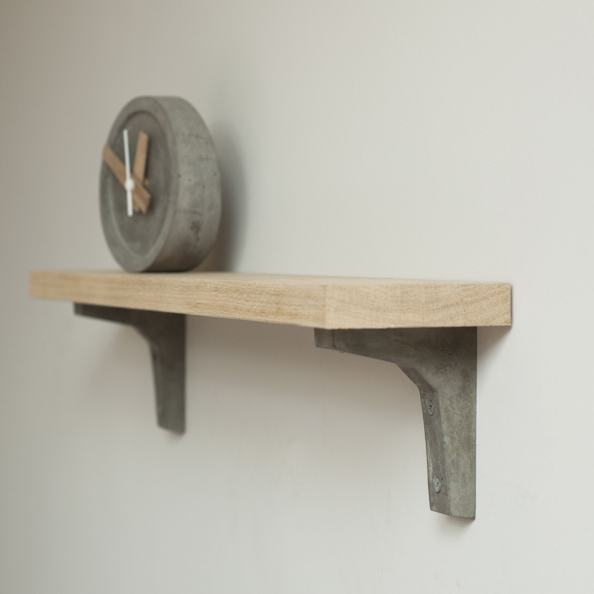 Concrete shelf bracket small Concreto y Yeso