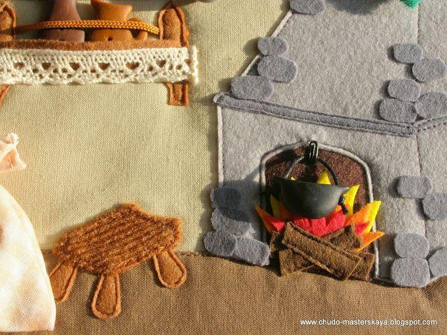 Кукольная миниатюра из войлока — 9