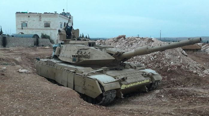 90f2792cfdf8 M60T Sabra Mk II upgraded with Aselsan SARP and LWR