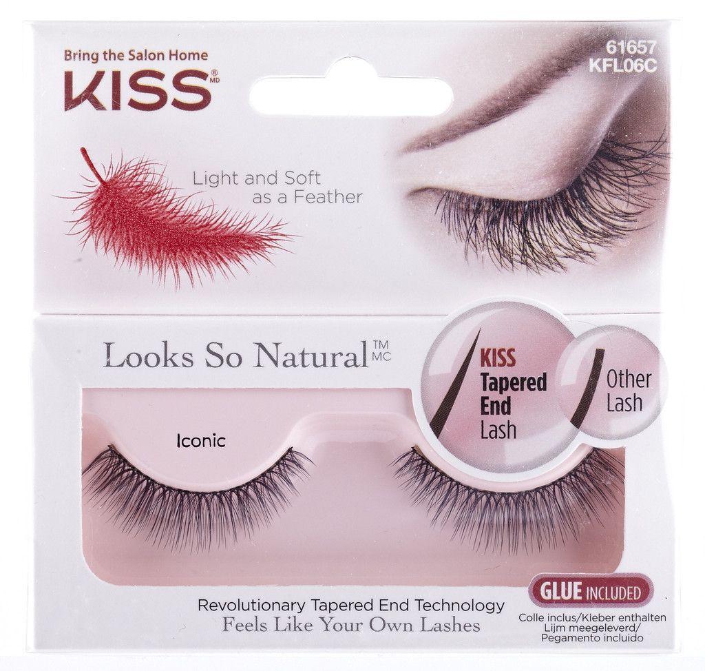 Kiss True Volume Lashes Ritzy False Eyelashes Pinterest