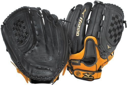 Mizuno Supreme Gsp1403 Softball Fielder S Mitt Black Almond 14 Inch Right Handed Throw By Miz Slow Pitch Softball Softball Gloves Slow Pitch Softball Gloves