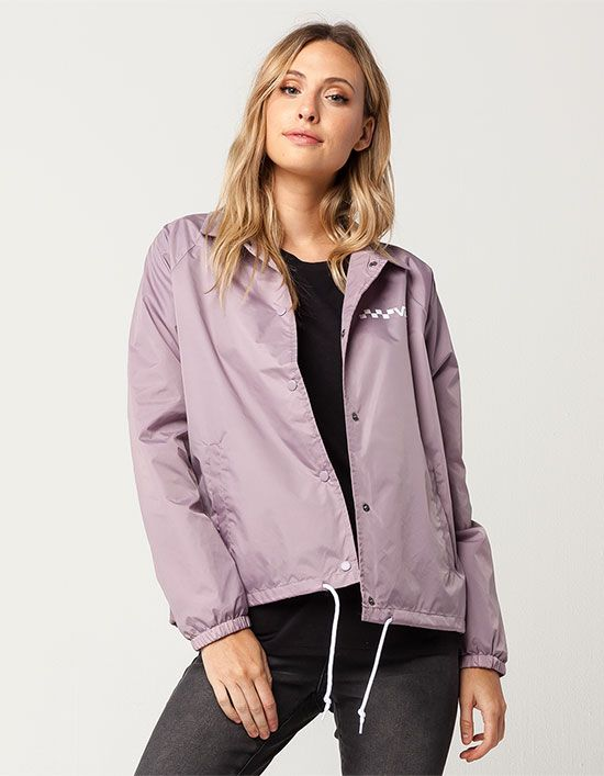 572265c55d VANS Thanks Coach Womens Windbreaker Jacket
