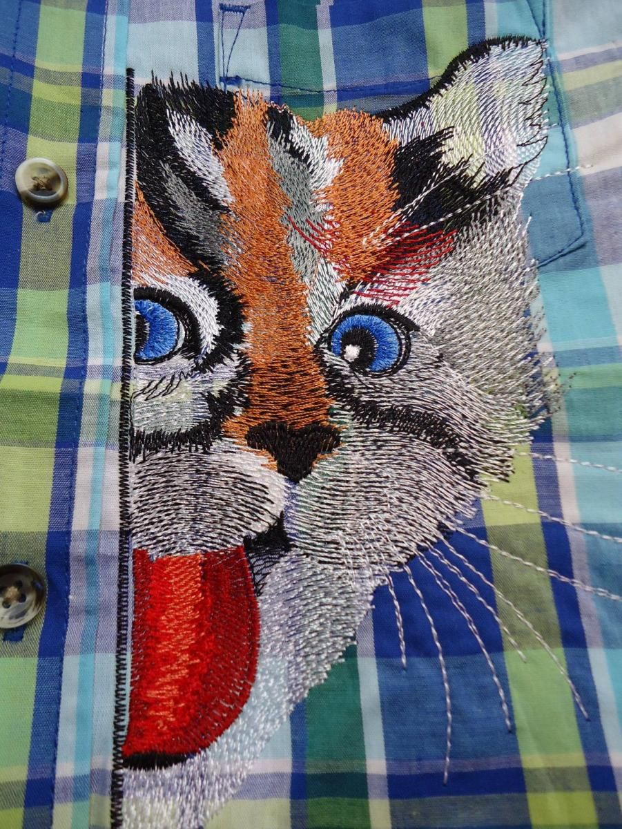 Playing Cat Free Embroidery Design Free Machine Embroidery Designs