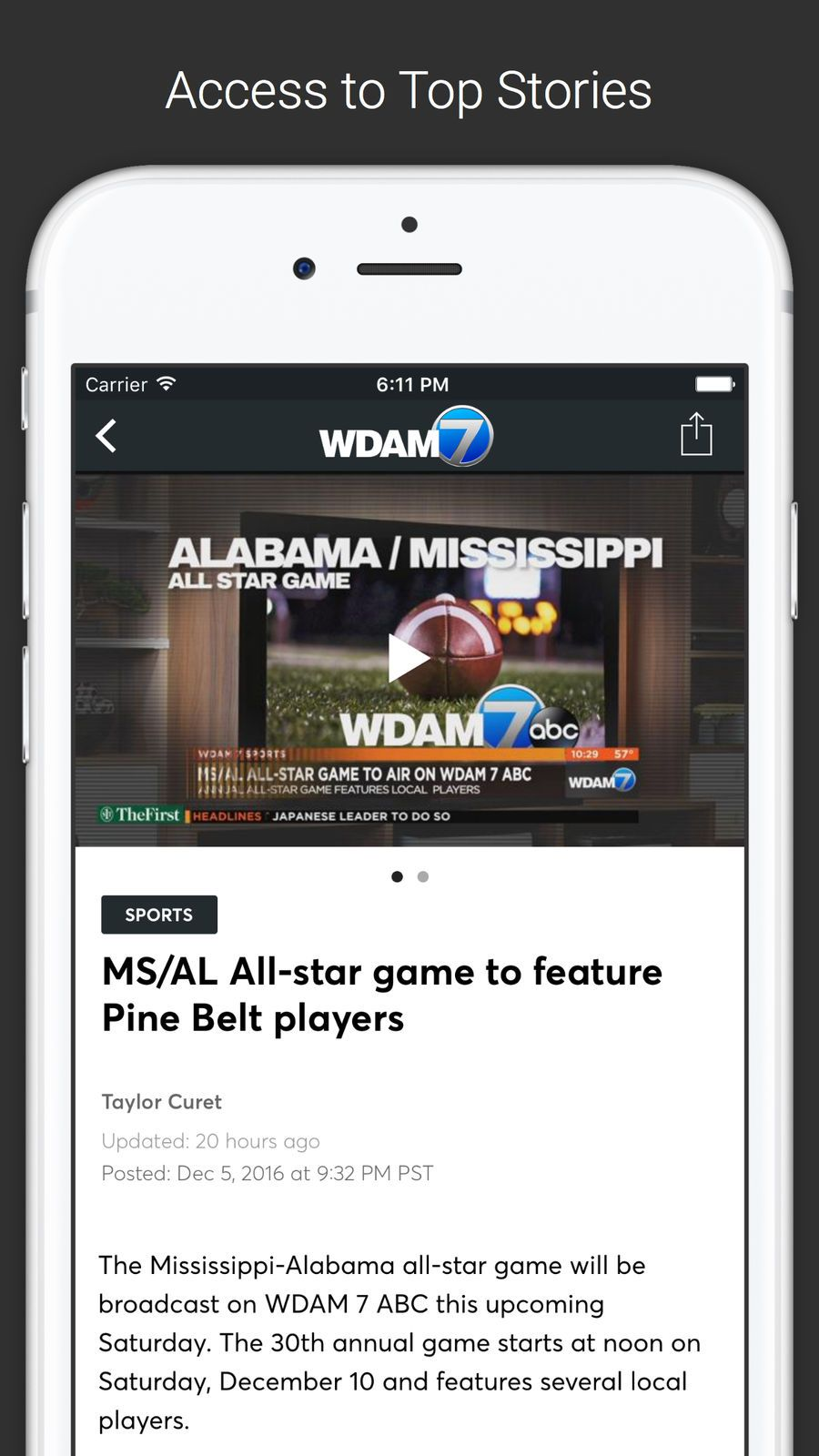 WDAM Local News #ios#Weather#app#apps | Game Ios Galleries | Local