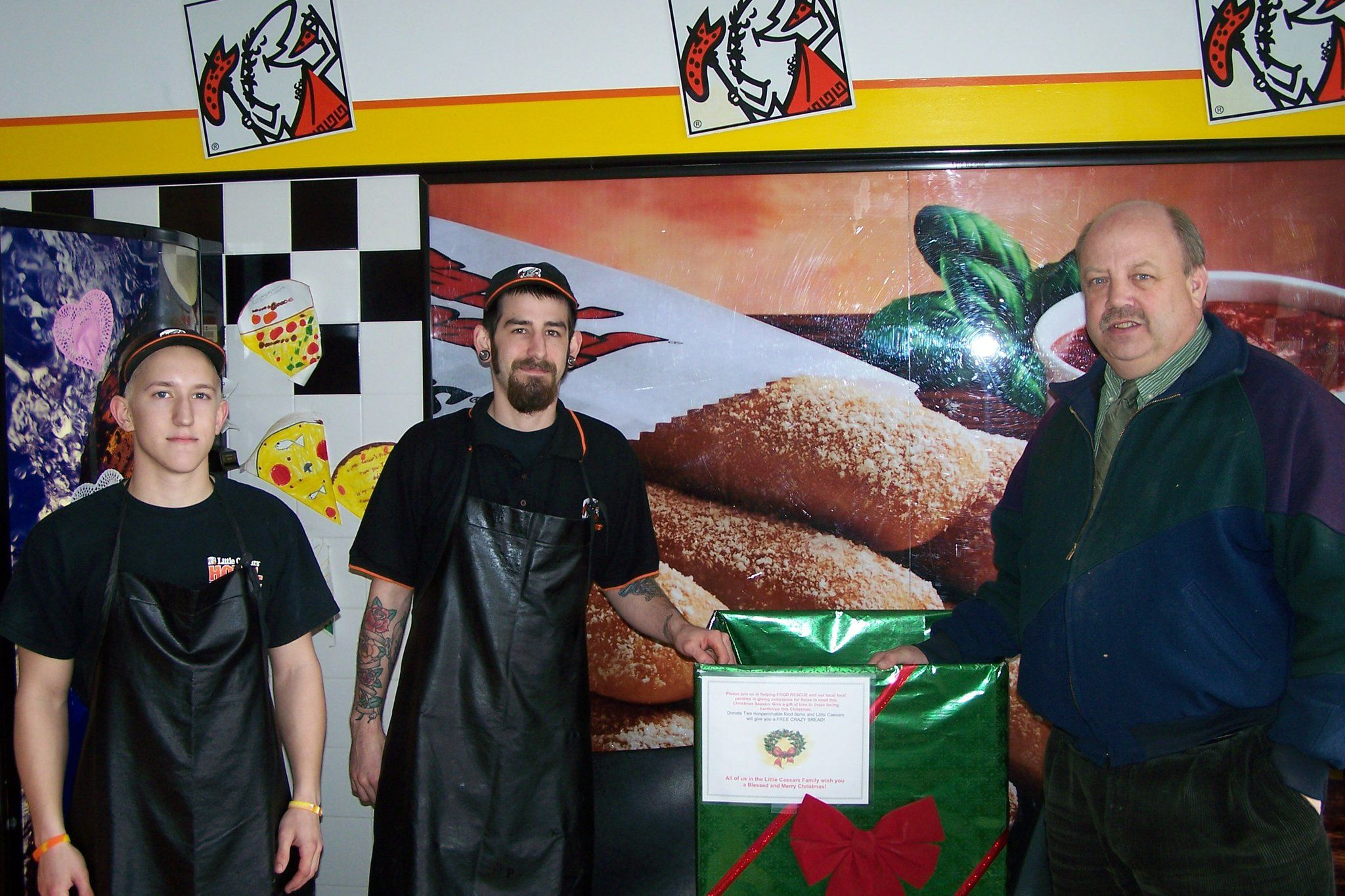 Food rescue and little caesars partner with the northern