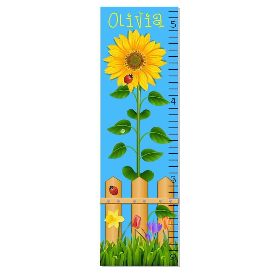 Sunflower Growth Chart Google Search Growth Chart Sunflower Canvas Painting Projects