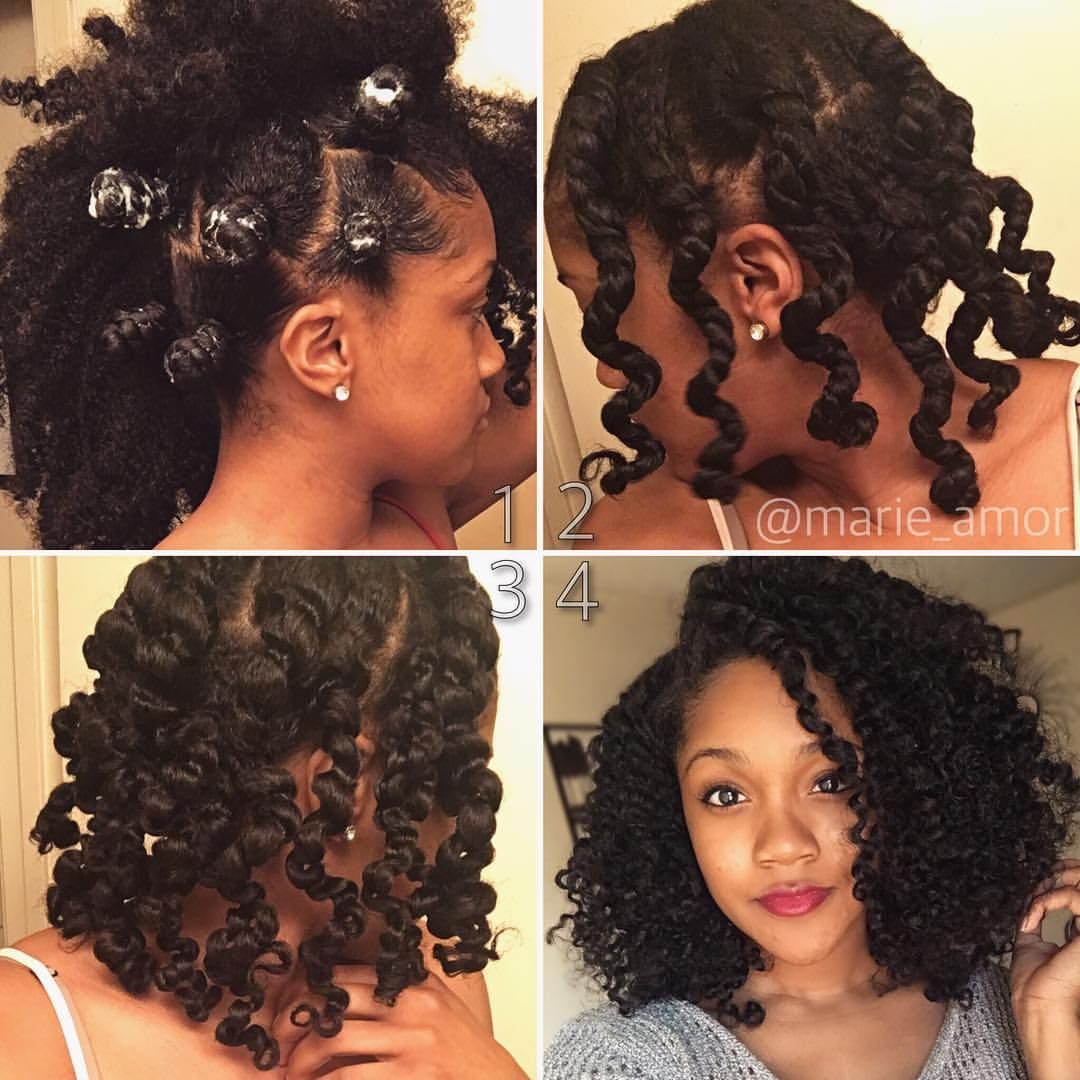Bantu/Two Strand Twist Out. I Like To Sometimes Bantu My Twist Because I  Notice It Gives Me More Definition And The Style Seems To Last Longer.