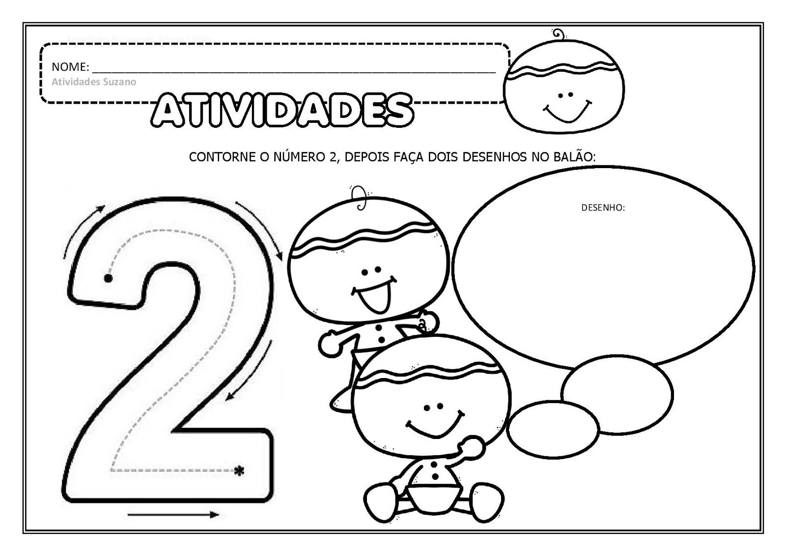 Educacao Infantil Numeros Ate O 5 Em Pdf Matematicas