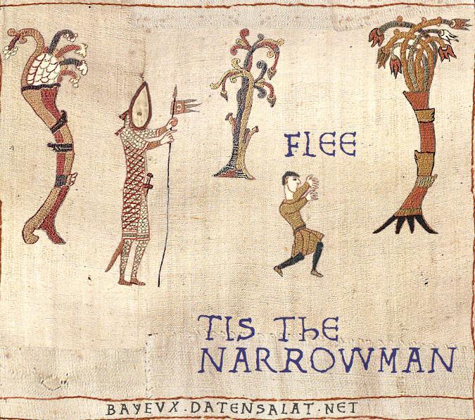 Narrowman Medieval Tapestry Edits Bayeux Tapestry Medieval Tapestry Medieval Memes