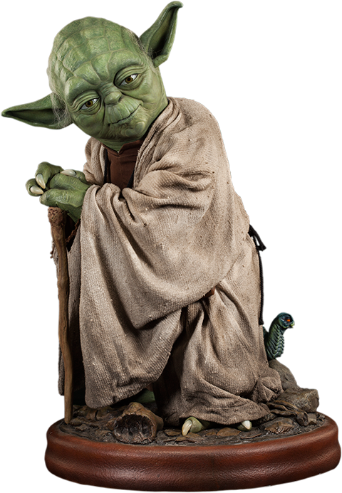 Yoda Life-Size Figure $2499 Click on picture links for more ...