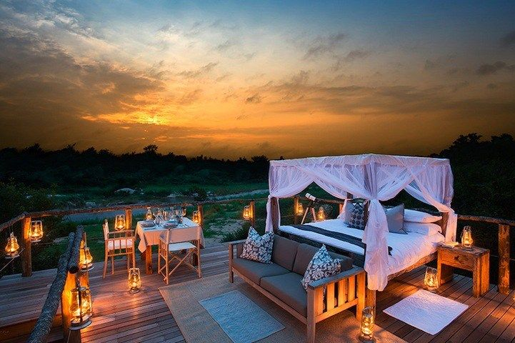 Sleep Under the Stars in the Kruger Lion sands game