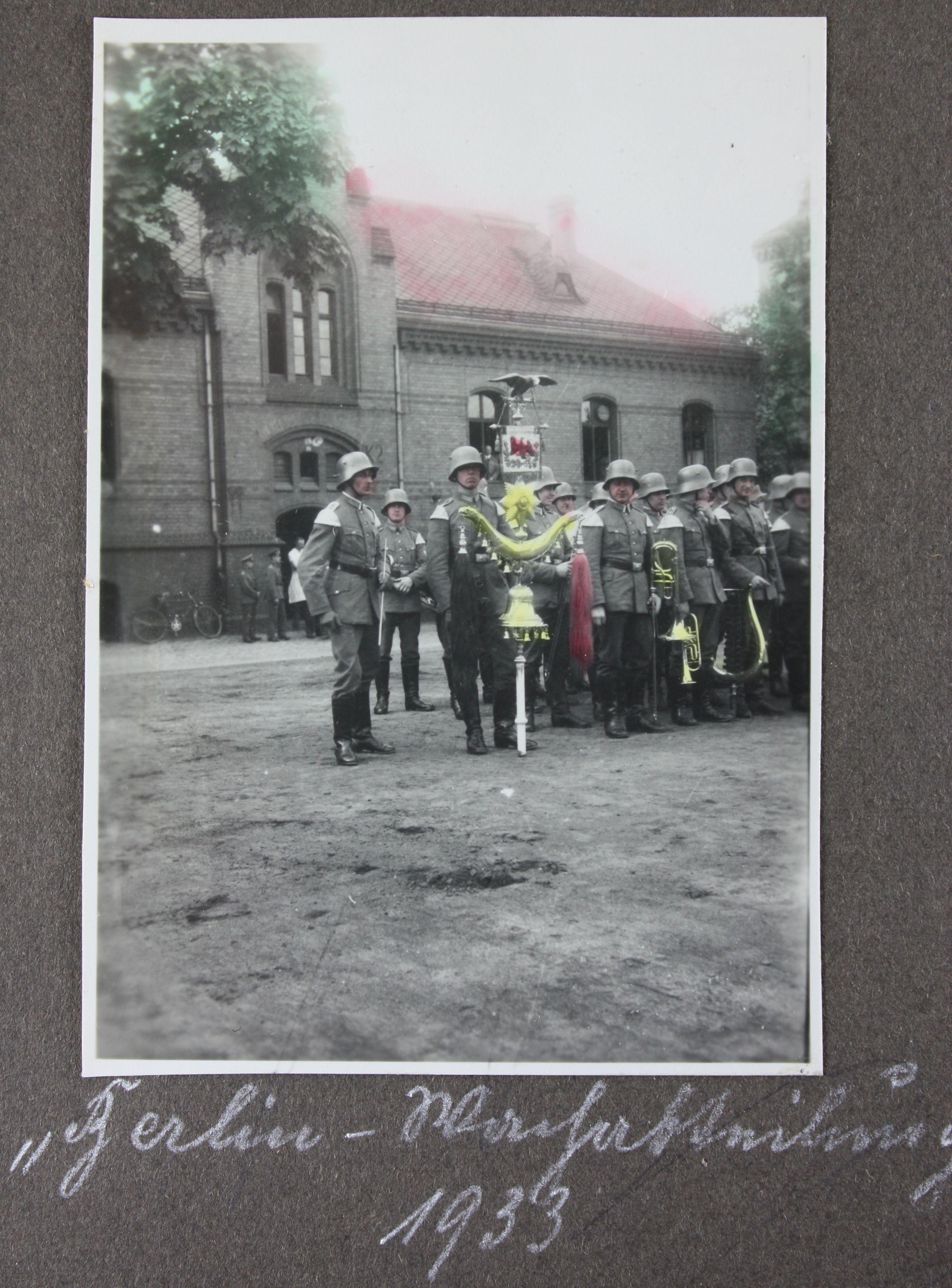 Berlin Musikerübung 1933