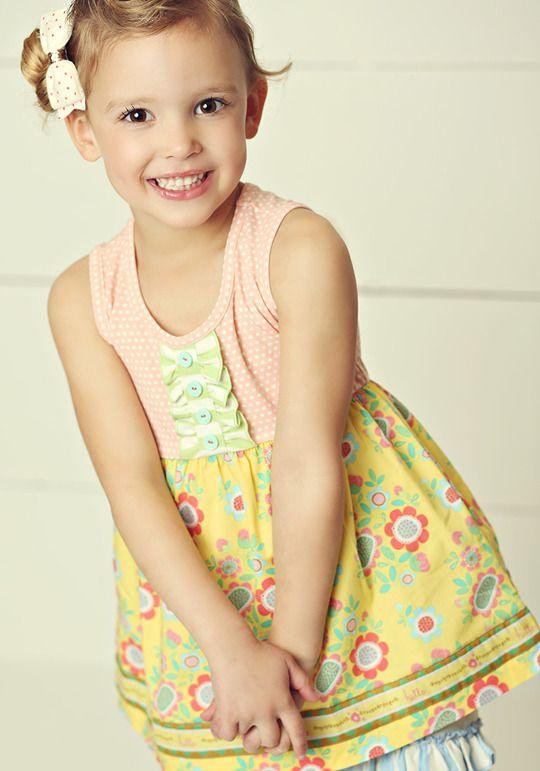 Matilda Jane Hello Lovely Sweet Smiles Dress Size 2