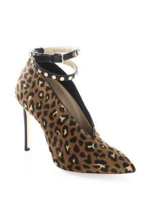 free shipping reliable Jimmy Choo Ponyhair Ankle Strap Sandals best prices cheap online sale excellent kE9fW
