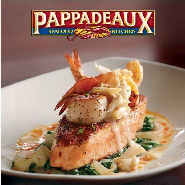 Pappadeaux Brunch: Pappadeaux's Crispy Atlantic Salmon