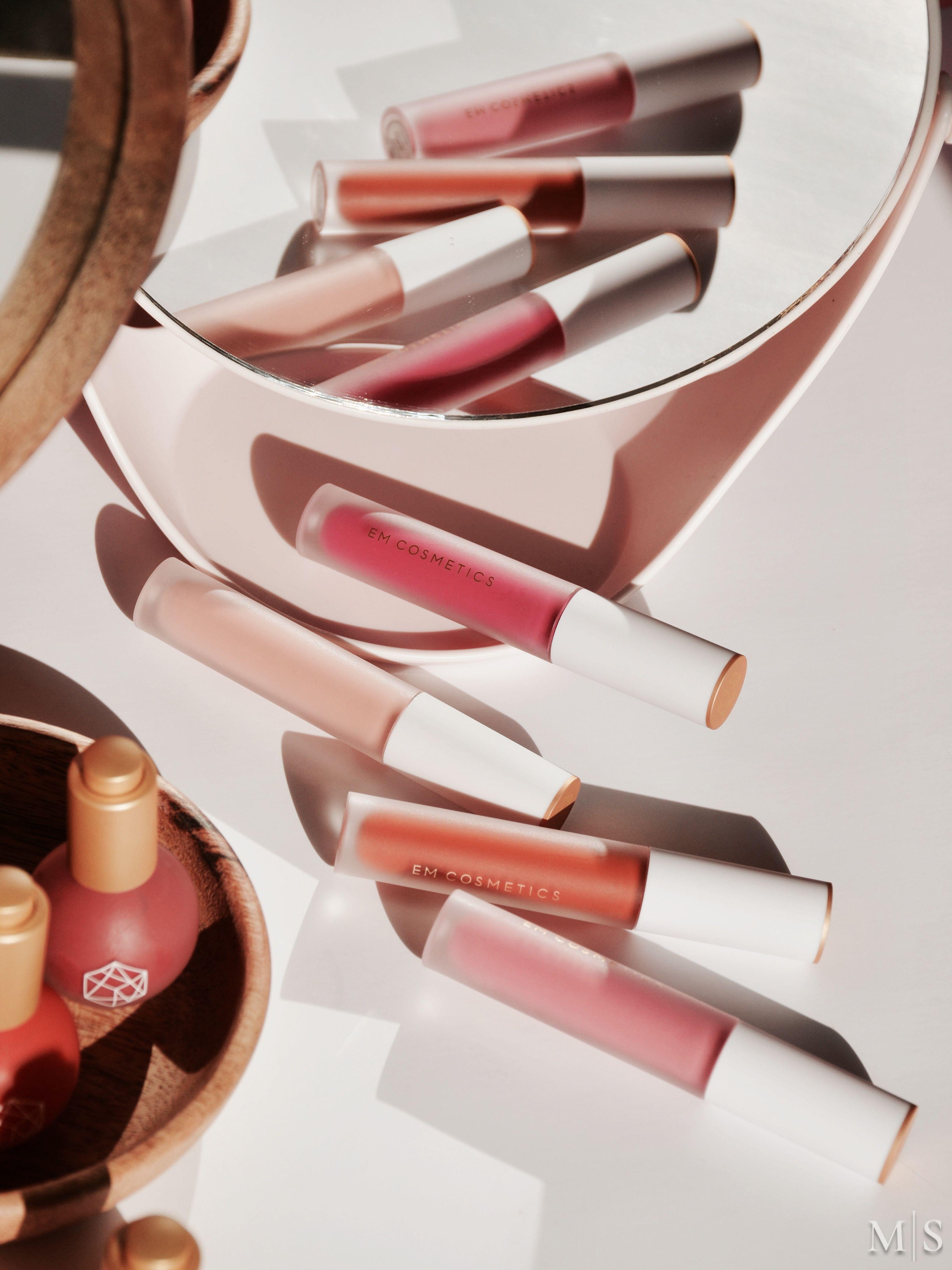 EM Cosmetics Color Drops Serum Blush + New True Gloss