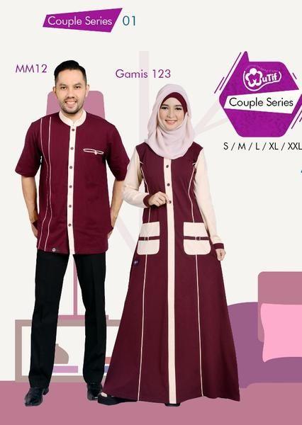 Jual beli Baju Sarimbit Mutif Couple Series 01 di Lapak Aprilia Wati -  agenbajumuslim. Menjual 71f1ae9ee2