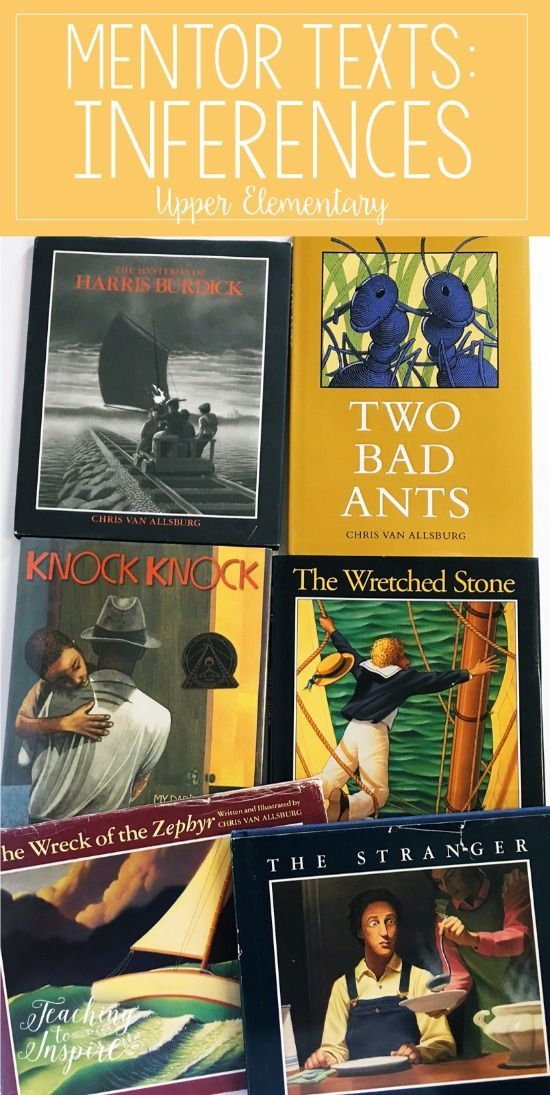Read Alouds for Teaching Inferences