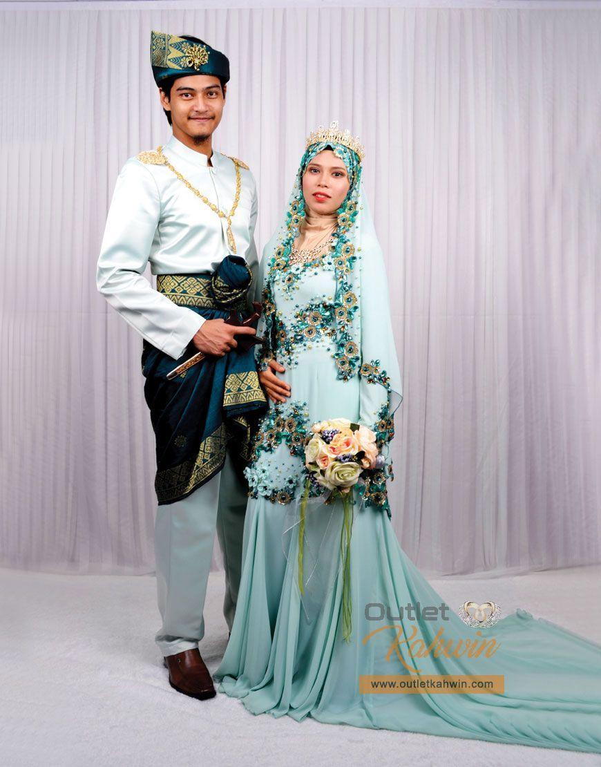 Baju Pengantin Muslimah Bertudung Labuh Www Topsimages Com