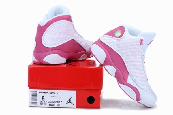 fdf2f6c4ee52d Blanco   Rojo Air Jordan 13 Retro 2013 nuevas mujeres de los zapatos ...