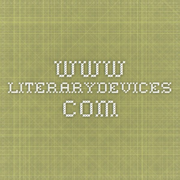 www literarydevices com