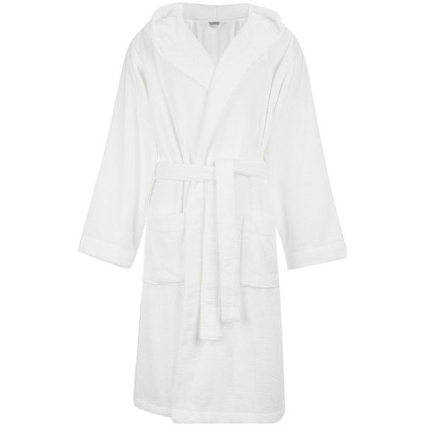 House by John Lewis Rib Weave Robe ($50) ❤ liked on Polyvore ...