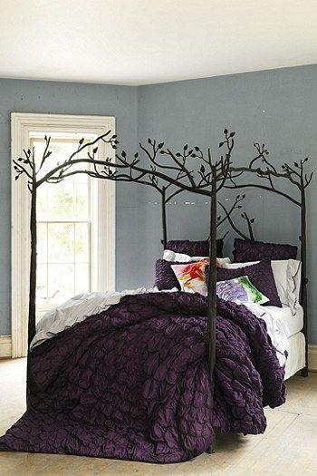 Home, Plum Bedding, My Home Design