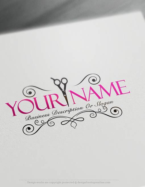 Exclusive Logo Design Hair Salon Logo Images Free Business Card
