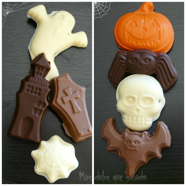 Bombones Halloween Rellenos de Oreo y Chips Ahoy