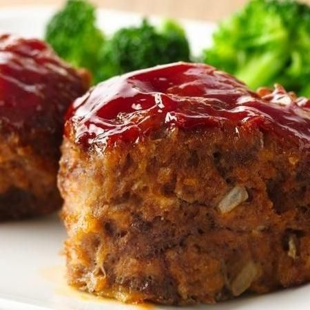 30 Minute Mini Meatloaves Recipe Recipes Food Meatloaf