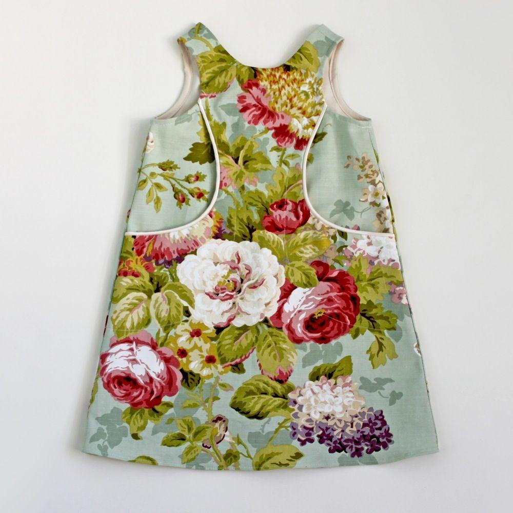 Image of Rose Bouquet Pocket Dress