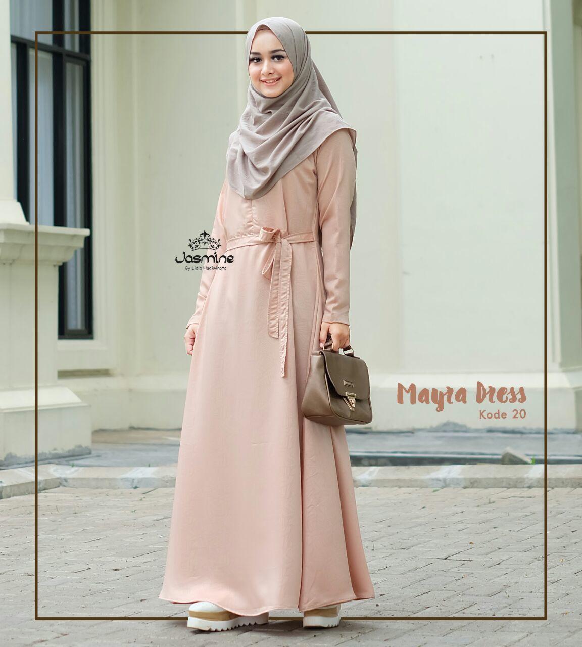Gamis Jasmine Mayra Dress 20 Baju Gamis Wanita Busana Muslim